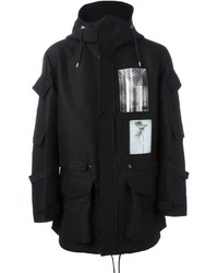 Givenchy Patch Print Parka