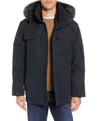 Andrew Marc Hamilton 3 In 1 Down Parka With Genuine Fox