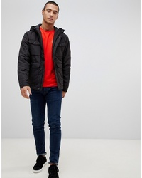 Jack & Jones Hooded Mid Weight Parka Jacket