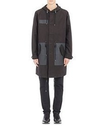 Marc by Marc Jacobs Hooded Parka Black Size Xs