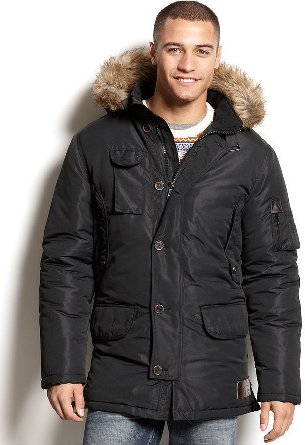 Rocawear Hooded Parka Coat | Where to buy & how to wear