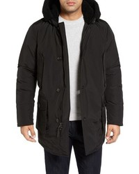 Woolrich John Rich Bros Down Parka With Genuine Shearling Trim