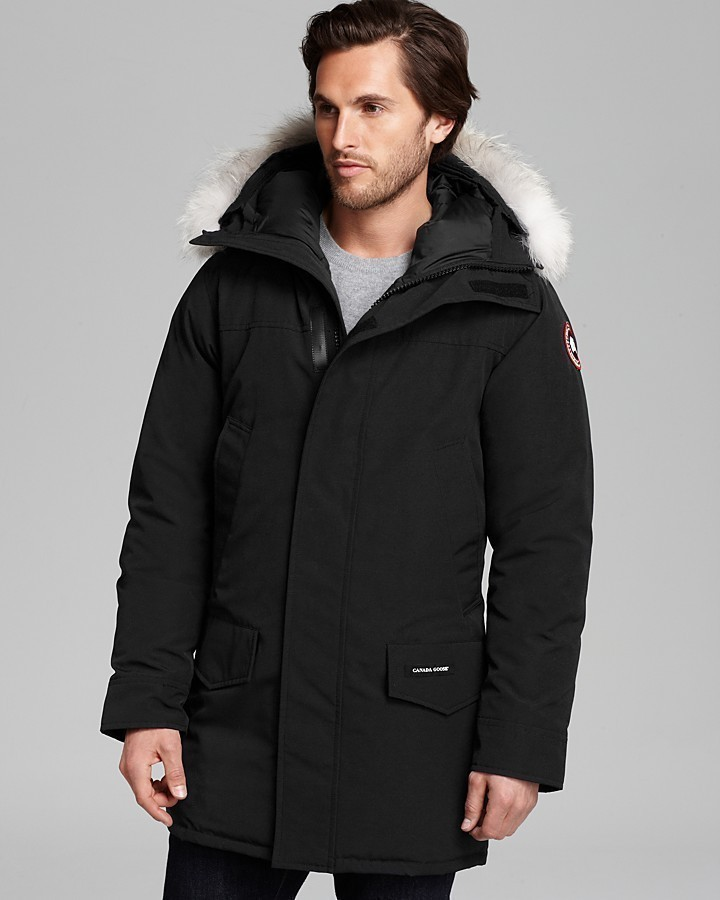 canada goose langford parka black medium