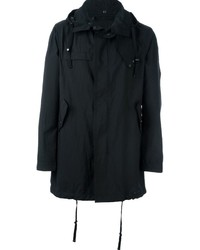 Lanvin Hooded Zip Up Parka