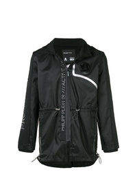 Philipp Plein Metallic Detailed Technical Jacket