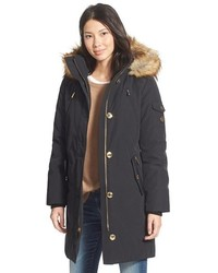 MICHAEL Michael Kors Michl Michl Kors Expedition Faux Fur Trim Down Feather Fill Parka