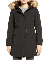 MICHAEL Michael Kors Michl Michl Kors Faux Fur Trim Down Feather Fill Parka