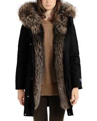 innovative design c9485 4d2f2 Women's Black Parkas by Woolrich | Women's Fashion ...
