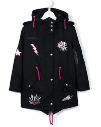 MSGM Kids Patched Parka
