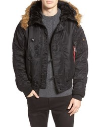 Alpha Industries N 2b Short Hooded Parka