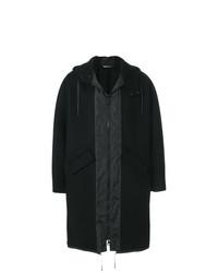 Valentino Oversized Hooded Coat