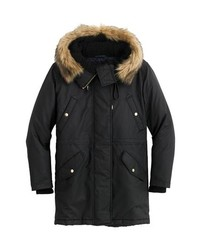 J.Crew Perfect Winter Parka With Faux