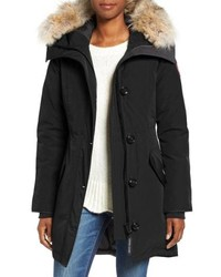 Canada Goose Rossclair Genuine Coyote Down Parka