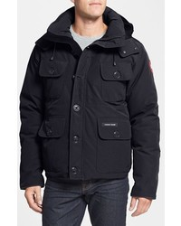 Canada Goose Selkirk Slim Fit Water Resistant Down Parka With Detachable Hood