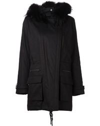 Vince Hooded Parka Coat