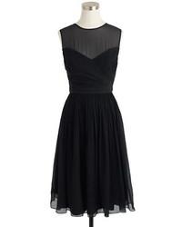 Clara dress in silk chiffon medium 243503
