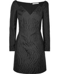 Givenchy Moire Jacquard Mini Dress