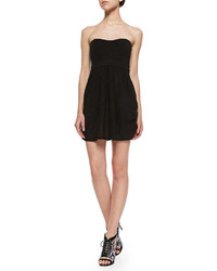 Free People Nyima Strapless Combo Mini Dress