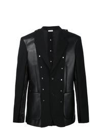 Black Patchwork Blazer