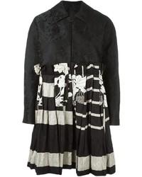Black Patchwork Coat