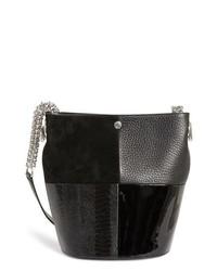 Alexander Wang Genesis Patchwork Leather Bucket Bag