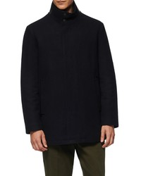 Marc New York Barton Inset Bib Wool Blend Jacket