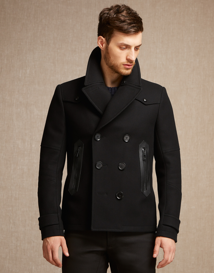 Belstaff Stoddard Peacoat Black | Where to buy & how to wear