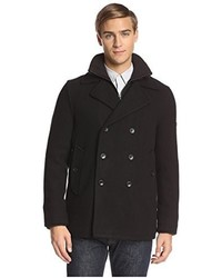Ben Sherman Double Breasted Peacoat