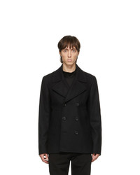 Ps By Paul Smith Black Car Peacoat