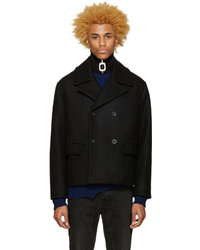 Acne Studios Black Merge Peacoat
