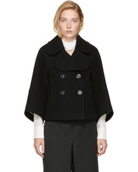 Chloé Black Wool Peacoat