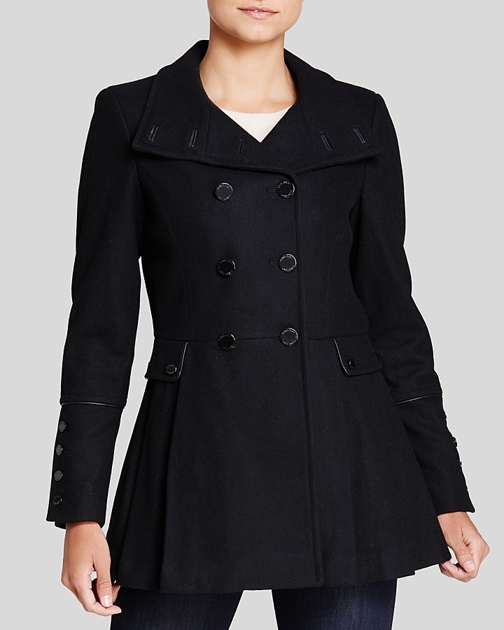 Calvin Klein Military Style Pea Coat | Where to buy & how to wear
