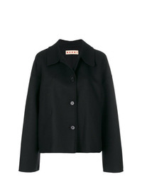 Marni Cropped Buttoned Peacoat