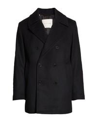 MACKINTOSH Dalton Wool Cashmere Pea Coat