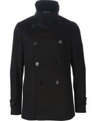 Emporio Armani Double Breasted Peacoat