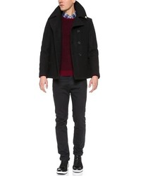 Gerald Stewart By Fidelity Quilted Peacoat | Where to buy & how to ... : quilted pea coat - Adamdwight.com