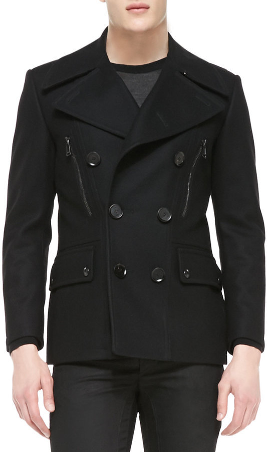 Belstaff Harris Slim Fit Peacoat | Where to buy & how to wear