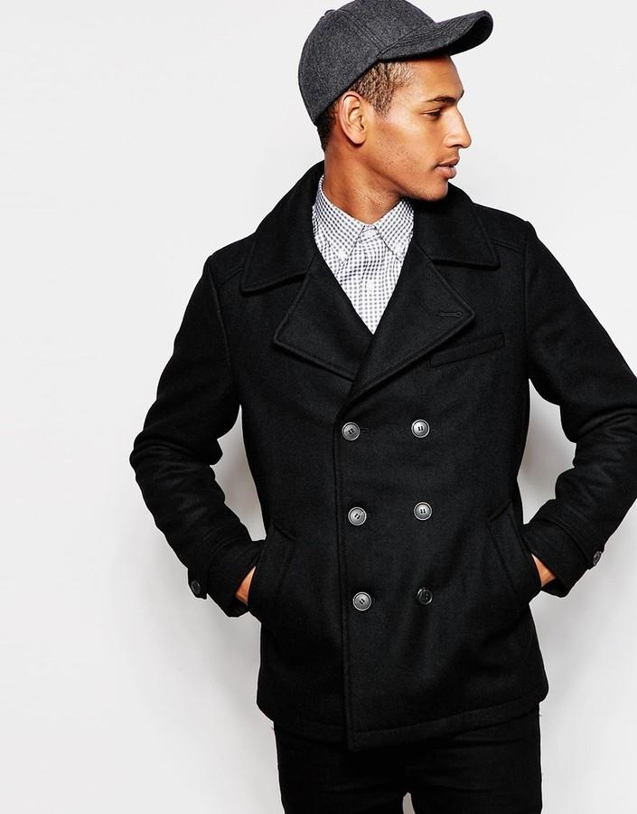 ... Selected Homme Wool Peacoat ... 4109b94be
