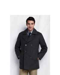 Lands' End UK Lands End Regular Wool Pea Coat
