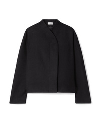 The Row Moona Cotton And Wool Blend Jacket