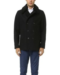 Vince Mouton Collar Pea Coat