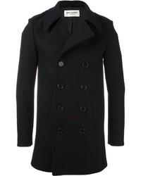 Saint Laurent Classic Caban Pea Coat