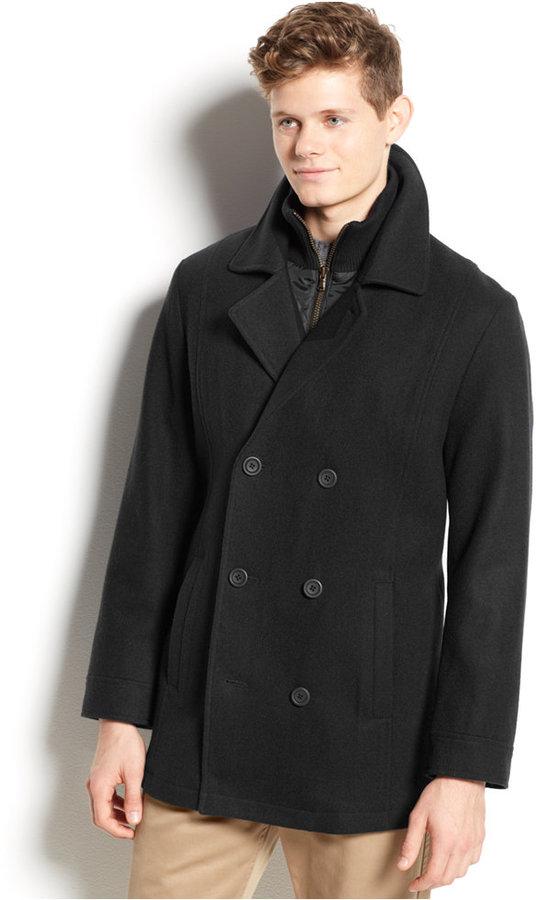b8aff44d5 $99, American Rag Wool Blend Pea Coat