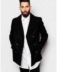 ONLY & SONS Wool Blend Peacoat