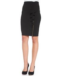 Rebecca Minkoff Angela Ruffled Zipper Pencil Skirt