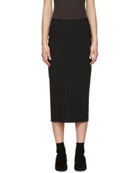 Isabel Marant Black Orema Skirt