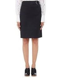 3.1 Phillip Lim D Ring Belt Pencil Skirt Black