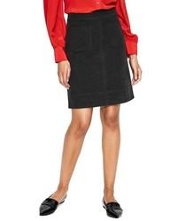 Boden Dorchester Patch Pocket Stretch Cotton Miniskirt