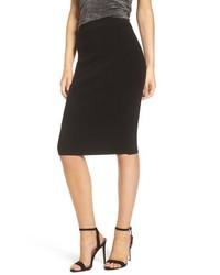 Leith High Waist Body Con Skirt