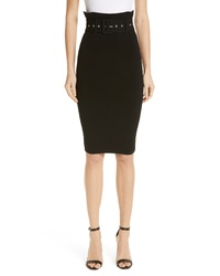 Milly High Waist Pencil Skirt
